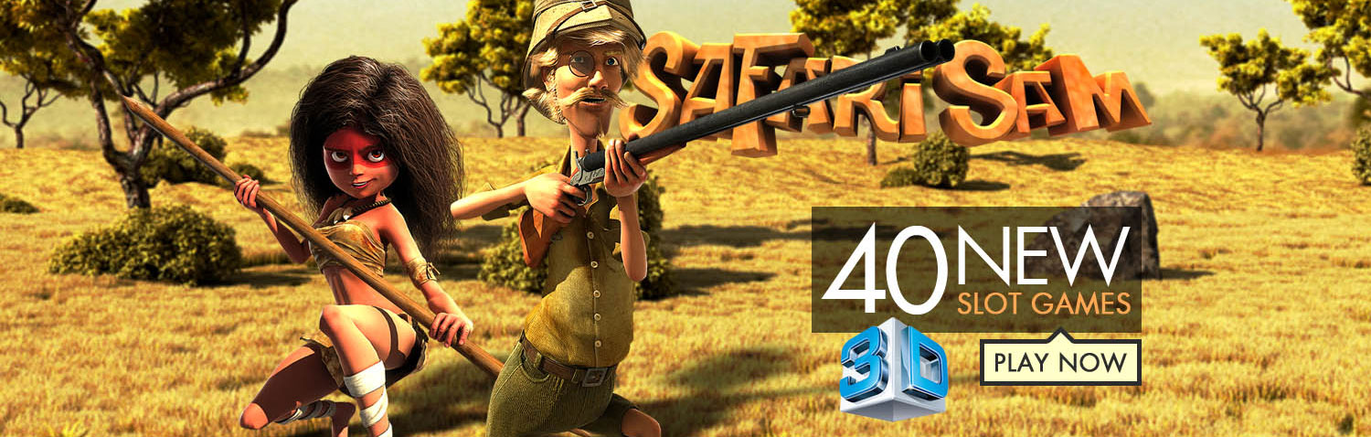 Safari Sam 3D casino games